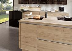 Kitchens by German Kitchen Center. Our expert kitchen designers will bring your dream kitchen to reality, with stunning results. Nobilia Kitchen, Kitchen Cabinet Design, Kitchen Island, Kitchen Cabinets, Handleless Kitchen, European Kitchens, German Kitchen, Cuisines Design, Home Decor