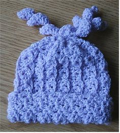 Pattern is adjustable for any size (preemie, newborn, toddler, up to adult) and any weight of yarn (worsted weight, sport weight, baby or fingering yarns). Very nice and stretchy, versatile, quick to crochet and easy to learn the stitch to pack up and take with you. This pattern works great for charity work too!