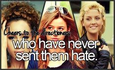 Never have, never will! They are all amazing and they make the boys happy. So we should all be happy for them!
