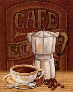 Para os nossos traquinas, café só mesmo para cheirar!