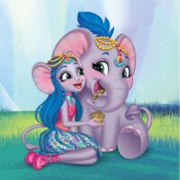 Ekaterina Elephant is a and all-around character. She is voiced by Salome Mergia. Elephant Trunk, Elephant Ears, Character Personality, Drawing Sketches, Drawings, Miraculous Ladybug Movie, Cartoon Girls, Beautiful Fairies, Gold Pattern