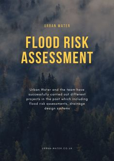 Flood is amongst the most frequent and intense water disaster that always results in loss of life and huge damages of any kind of property. Hence the need for flood risk assessment certainly arises as it is becoming the need of the hour and hence a guide describing crucial points and their process definitely help here. Flood Risk Map, Flood Risk Assessment, Flood Areas, Water Flood, Environment Agency, Planning Applications, Water Management, Flood Zone, Design System