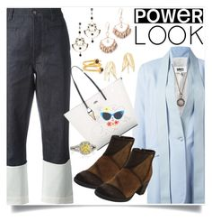 """""""Power Look"""" by mkrish on Polyvore featuring Ela Rae"""