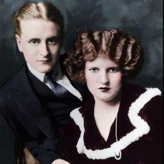 F Scott Fitzgerald And Zelda Wedding All Things Gatsby on P...
