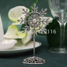 Find More Event & Party Supplies Information about 1Piece Snowflake Silvering Wedding Table Number Place Name Card Stand Memo Card Holder,High Quality stand up ziplock pouch,China stand alone card reader Suppliers, Cheap holder craft from  Love for All Seasons on Aliexpress.com