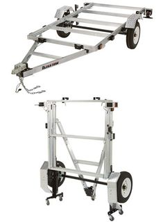 Ultra-Tow x Folding Aluminum Utility Trailer Kit — Load Capacity Jon Boat Trailer, Kayak Trailer, Trailer Plans, Trailer Build, Car Trailer, Camper Trailers, Trailer Storage, Trailer Hitch, Utility Trailer Kits