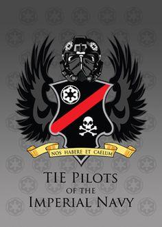 Items similar to TIE Pilot Coat of Arms, Digital Art Print on Etsy Star Wars Darth, Star Wars Rebels, Star Wars Clone Wars, Star Wars Personajes, Star Wars Tattoo, Star Wars Images, Star Wars Wallpaper, Star Wars Fan Art, Star Wars Poster