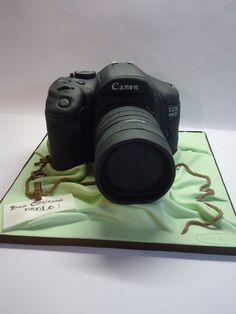 Canon cake! Cake by Diletta Contaldo If Someone got me this cake! :) :0!!!!