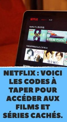 Netflix: here are the codes to type to access hidden movies and series. Netflix : voici les codes à taper pour accéder aux films et séries cachés. Netflix: here are the codes to type to access hidden movies and series. Netflix Codes, It Netflix, Netflix Hacks, Netflix Series, Netflix Gift, Netflix And Chill, Life Hacks Diy, Diy Hacks, Le Code