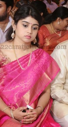 Jewellery Designs: Prabhu Daughter in Law Jewellery