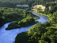 The Niobrara River Near Valentine, Nebraska, USA Photographic Print by Chuck Haney at AllPosters.com