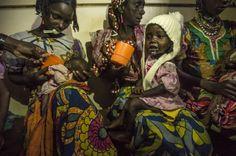 Bambini in fuga dalle violenze della Repubblica Centrafricana' (foto: © Frédéric Noy / Cosmos per HCR)