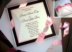 Fairytale Wedding Invitation - Swarovski Crystal Wedding Invitation