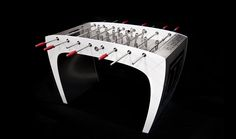 With the absolute element of luxury, a foosball like like no other #FoosballTable #Luxury #Sports #Soccer #Toronto #Vanvouver #thelowitz #thebolzplatz