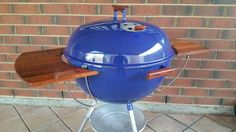 Weber Kettle, Grill Table, Weber Grill, Barbecues, Charcoal Grill, Diy Table, Outdoor Cooking, Canning, Awesome