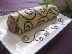 Brazo de gitano relleno de chocolate