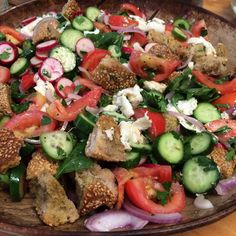 אפרת אנזל - מבשלת בבית - סלט פנצנלה