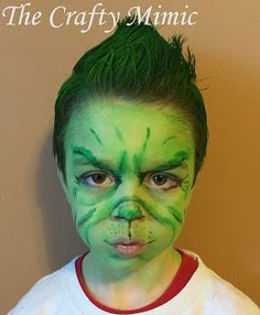 My Little Grinch for Dr. Seuss Day at School; The Crafty Mimic