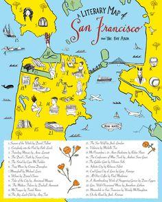 A Literary Map of San Francisco