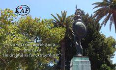 """""""Nu voi fi un om obişnuit, pentru că am dreptul să fiu extraordinar.""""  Peter O Toole http://www.globalkaf.ro"""