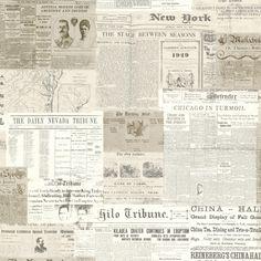 Oxford, Gazette 2604-21267 by Brewster Wallcoverings