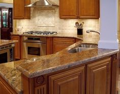 Tumbled Marble Kitchen Backsplash Design Ideas, Pictures, Remodel, and Decor - page 425