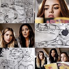 """#PLL 7x15 """"In the Eye Abides the Heart"""" - Hanna, Emily and Aria"""