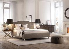 Łóżko tapicerowane do sypialni. http://domomator.pl/lozko-tapicerowane-sypialni/