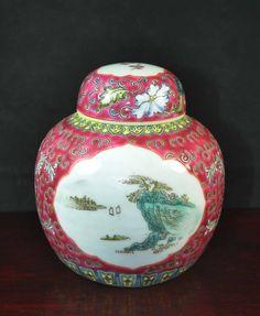 Chinese Porcelain Tea Caddy : // - Maria Elena Garcia -  ► www.pinterest.com/megardel/ ◀︎