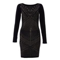Quiz Women Black Light Knit Long Sleeve Embellished Dress - Black   Buy Online in South Africa   takealot.com Embellished Dress, South Africa, Dress Black, Knitting, Long Sleeve, Stuff To Buy, Dresses, Women, Fashion