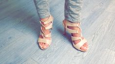 Lace-up sandals. Trend ss '16