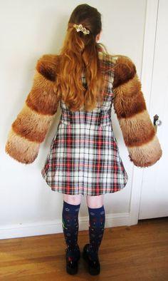 Rare Vintage Betsey Johnson Coat. $400.00, via Etsy.