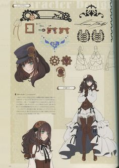 Code : Realize ~ Character Design Taken from Code : Realize Official Artbook (sorry, it's been too long since I'm update any scan from artbook, I'm free now) P/S : If you haven't got the game, you can...