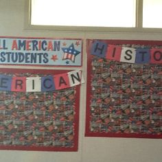 8th grade history bulletin board History Bulletin Boards, History Classroom, Us History, American History, Teaching Materials, Teaching Ideas, 8th Grade History, Class Room, 5th Grades
