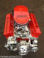 383 STROKER MOTOR 465HP ROLLER TURN KEY PRO STREET CHEVY CRATE ENGINE  SBC CNC