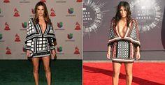Alessandra Ambrosio escolhe modelo já usado por Kim Kardashian