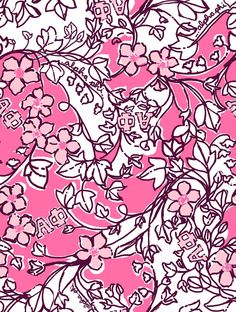 Lilly Pulitzer Alpha Phi print