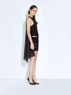 HOOKED Cape Dress