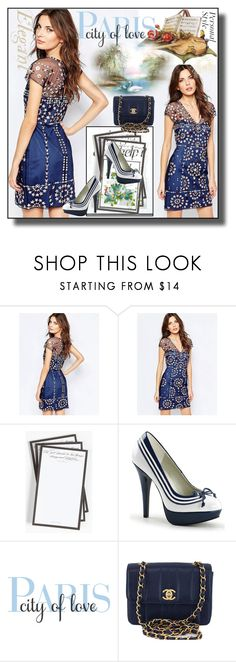 """""""set 118"""" by fahirade ❤ liked on Polyvore featuring French Connection, Jennifer Lopez, Ben's Garden, WALL and Chanel"""