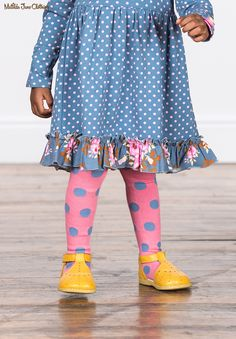 a26fce3dff6fa Make Believe, Fall 2017: Step Lightly Tights and Story Time Dress My Little  Girl