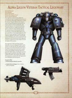 Pre heresy Alpha Legion