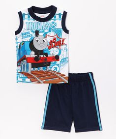 Look at this Navy Thomas the Tank Engine 'go Blue' Tank