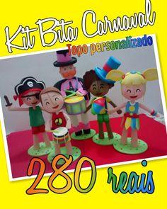 O Carnaval está chegando... Que tal comemorar o aniversário do seu filho ou filha com o Bita e as crianças no tema Carnaval? #mundobita  #bita  #carnaval #carnavaldobita