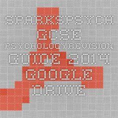 SparksPsych GCSE PsychologyRevision Guide 2014 - Google Drive