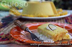 Receita de Pudim de Milho Verde com Coco Diet