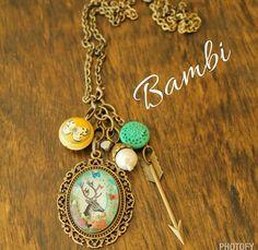 Bambi Plunder necklace.