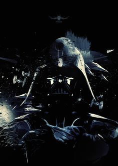 Star Wars: Darth Vader Poster  Created by Nuno Miguel de Azevedo