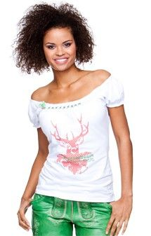 german blouses for women | available in: S M L XL Traditional shirt Lorena - white €40.24 *