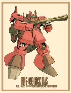 RMS-099 Rick Dias / viridian-G
