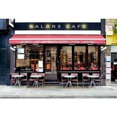 Balans Cafe, London